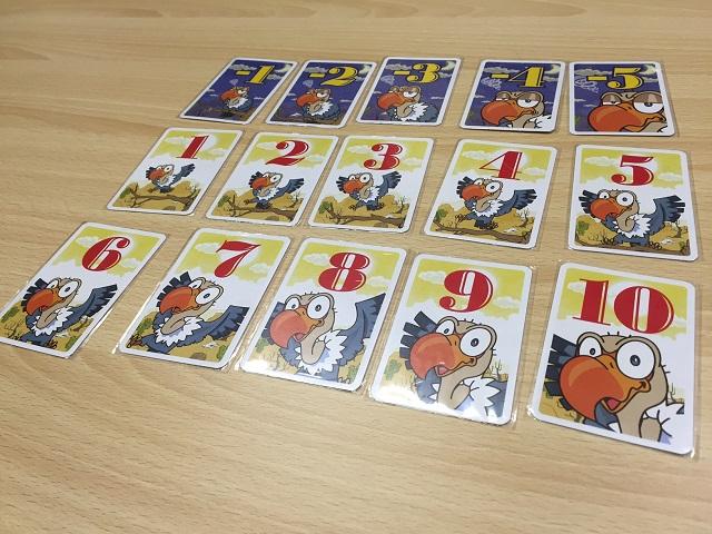 ハゲタカのえじき 点数カード